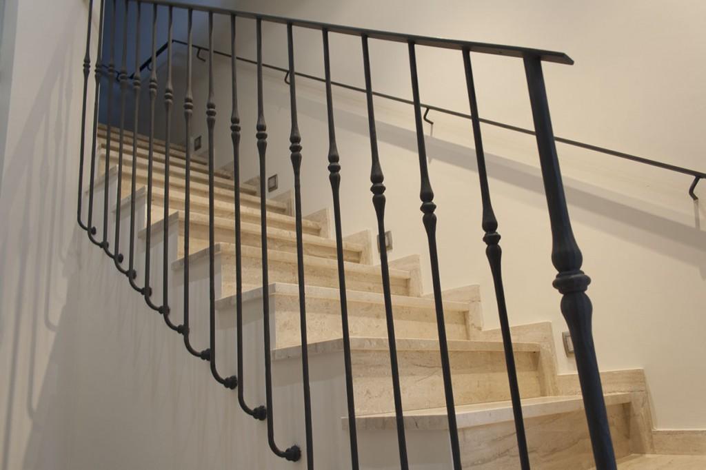 Barandillas aluminios osorio carpinter a met lica - Barandillas de escaleras ...