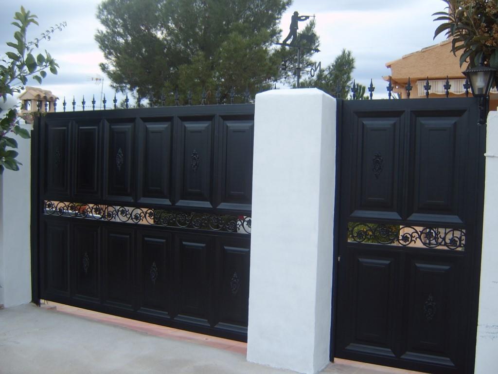 Puertas Aluminios Osorio Carpinter A Met Lica ~ Puertas Hierro Exterior Fachadas
